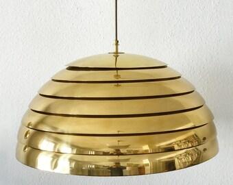 XXL Gorgeous Mid Century Modern VEREINIGTE WERKSTÄTTEN Pendant Lamp | Hanging Light | 1960s | Fog & Morup | Jo Hammerborg Era | ∅ 60cm