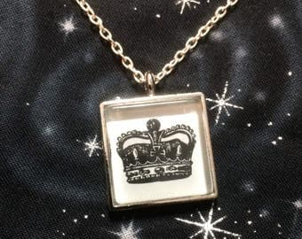 CLEARANCE Crown Necklace