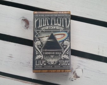 Oak Dugout One Hitter-/-Pink Floyd Dark Side Of The Moon Tour Poster Artwork