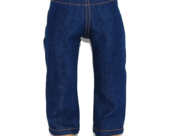 """Stretch Denim Jeans - Doll Clothes fits 18"""" American Girl Dolls"""