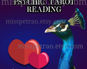 Personal Psychic Tarot Reading including 5 Questions, mp3 audio fast delivery