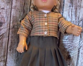 """7-piece  Mix and Match Outfit set for 18"""" dolls (Dress, jackets, skirt, pants and hat)"""