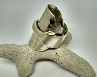 Silver Spoon Ring S001