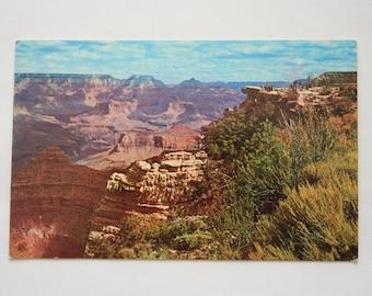 Grand Canyon Postcard /  vintage Grand Canyon / Grand Canyon Souvenir / K17378 / Arizona Postcard