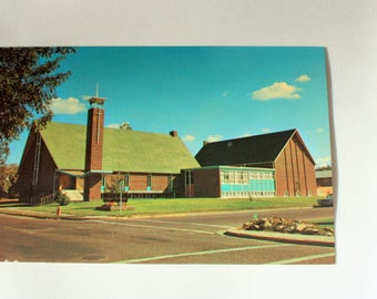 Medicine Hat Alberta Postcard / Medicine Hat Church,  , New Westminster Church,