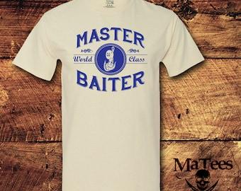 Fishing, Fish, Fishing Gift, Fishing Shirt, Fishing Birthday, Fisherman, Master Baiter, Funny T-Shirts, Funny, T-Shirt, Shirt, Tee