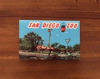 1960's San Diego Zoo Postcard Book/ 7 Double-Sided Photos/ Unused!!!