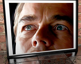 Leonardo Dicaprio - Inception - Painting Poster Print - Movie Art - Film Art - Christopher Nolan - Dreams -Painting Movie Print