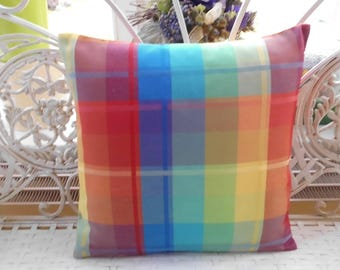 Summery stained pillowcase