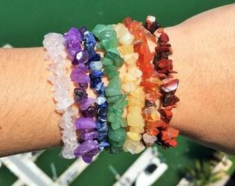 7 Chakra Healing Bracelet SET charged w/ Reiki Peferfect for Meditation, Healing, Balance