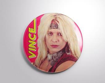 "Vince Neil Mötley Crüe 2.25"" button"