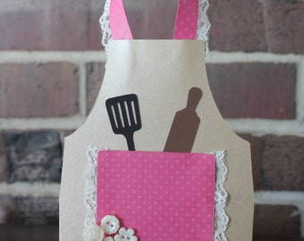 Apron Greeting Card - Any Occasion