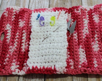 Crocheted Travel Case for Knit/Crochet Accessories