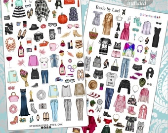 Basic by Lori  Planner Stickers