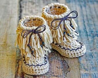 Baby Booties Crochet Pattern, Crochet Pattern Baby Moccasins, Baby Moccasins Crochet Pattern , Crochet Baby Pattern