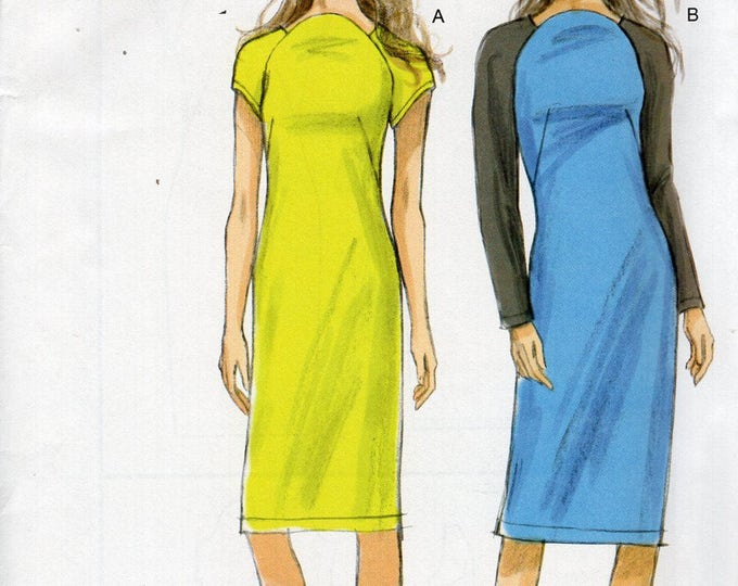 Vogue 8918 Sewing Pattern Free Us Ship Fun Dress Size 16 18 20 22 Bust 38 40 42 44 Uncut Out of Print 2013 (Last size left)