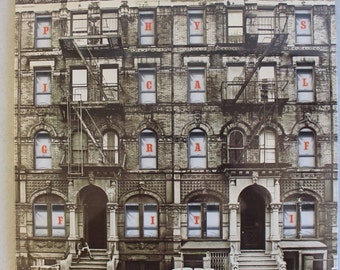 "LED ZEPPELIN ""Physical Graffiti"" Gatefold Factory Sealed 2 Lp's 1975 Vinyl Record 1975 Swan Song SS 2-200 1198"