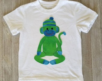 Sock Monkey / Hand Sewn / Toddler Boy Clothes / Boy Clothes / Toddler Boy