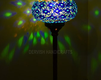 Turkish Table Lamp: Turkish lamp,mosaic table lamps,hand made lamps,accent lamp,handmade lamp,design  lamp,lampshades,modern bedside lamps,unique light fixture,Lighting