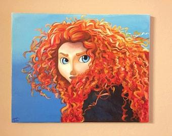 Custom Acrylic Canvas Painting