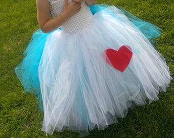 Alice In Wonderland Tutu Dress