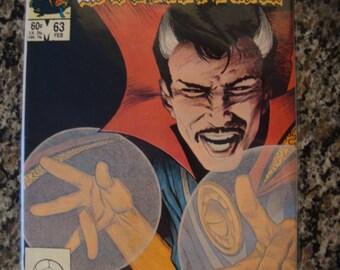 Doctor Strange Issue 63 Marvel comics