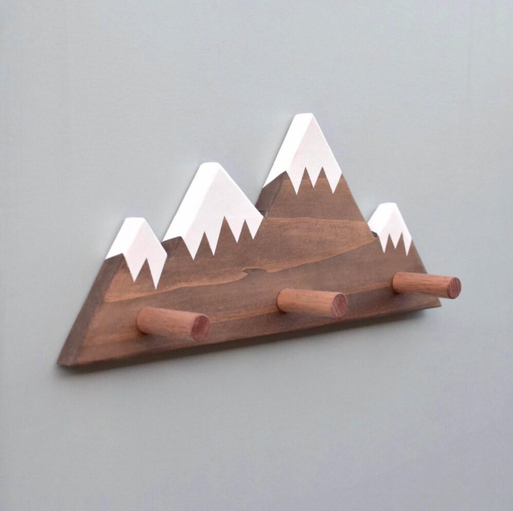Mountain peak wallhooks woodland nursery decor woodland zoom amipublicfo Gallery