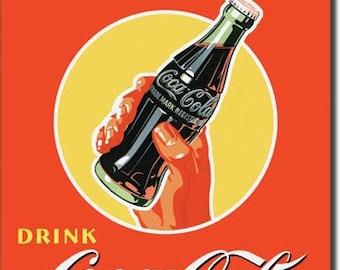 "Tin Sign "" Coke Coca ~ Cola Soda "" 16""x12"" Man Cave"