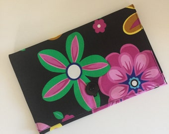 The Khristine Upcycled Handmade Clutch Purse