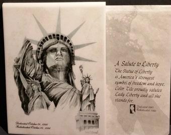 Statue of Liberty Dedicated 1880