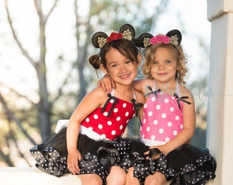 Dream Princess Inspired Pink Minnie Mouse,Perfect dress from your Disney trip! Baby, Toddler, Girls Birthday Dress, Princess Dress, Costume