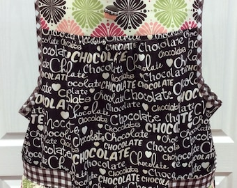 Chocolate Womens Adult S-M Apron