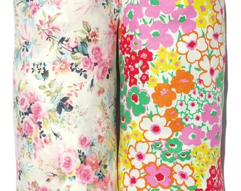 Plastic Bag Holder: Flower Power, Blooming, Dynasty, Blossoming, Hibiscus, Mint Paisley, Beige Paisley, Pink Paisley, Mini Bows, And More!