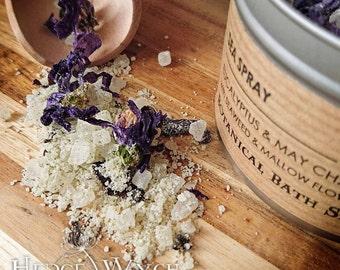 Detox Eucalyptus & Seaweed Bath Salts (Detox Bath Salts, Seaweed bath, Seaweed Bath Salts, Refreshing Bath Salts, Gift, Botanical Bath Salt)