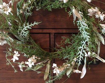 Stunning White Wreath