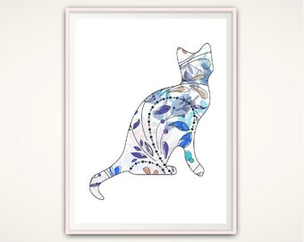 "Shop ""cat lady"" in Art & Collectibles"