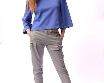 Woman cut trousers