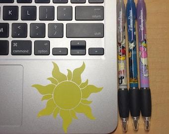 Tangled Rapunzel Sun Car/phone/tablet/laptop/planner decal/sticker