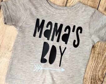 Mamas Boy T Shirt | Mother's Day Toddler Boy Shirt | Mother's Day Tee | Mama's Boy