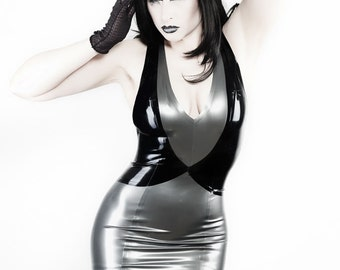 Loop Latex Dress