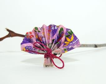 "PIN in origami ""Exotic purple range"""