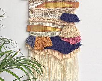 Woven wallhanging decoration home