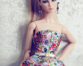 Tokidokki  for fashion royalty , Poppy Parker, Silkstone Barbie, fr2 , fr1 , 12'' Fashion Doll