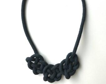 Node chain node heart Butterfly slim black