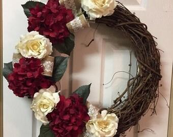 Valentines Door Wreath | Valentines Day Wreath | Valentines Day Decor | Valentines Gift