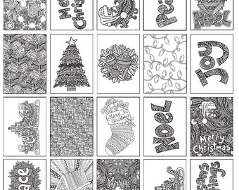 """30 Christmas Coloring Pages 