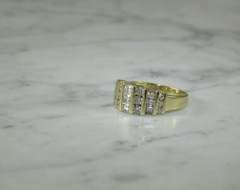 Diamond Ring 1 Carat 14K Gold
