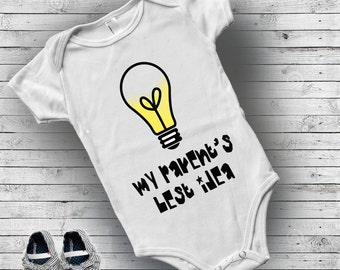 Baby announcement grandparent onesie, Funny baby clothes, New parent gift, First time mom gift, First time dad, Baby boy clothes, Newborn