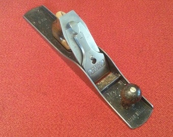 """Vintage Wards Master No. 6 Fore Plane 18"""" Made In USA Jack Plane Hand Plane"""