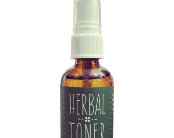 Toner, Organic, Herbal Extracts, Facial Care